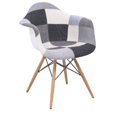 LeisureMod Willow Eiffel Accent Chair
