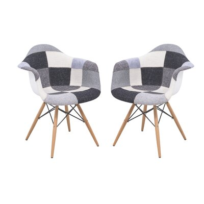LeisureMod Willow Eiffel Accent Chair (Set of 2)