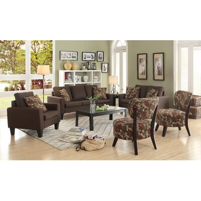 Latitude Run Bordovice Loveseat