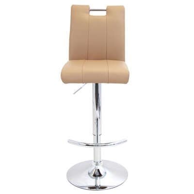 Latitude Run Sebastian Adjustable Height Swivel Bar Stool