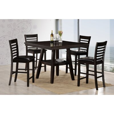 Latitude Run Harrells 5 Piece Dining Set by Simmons Casegoods