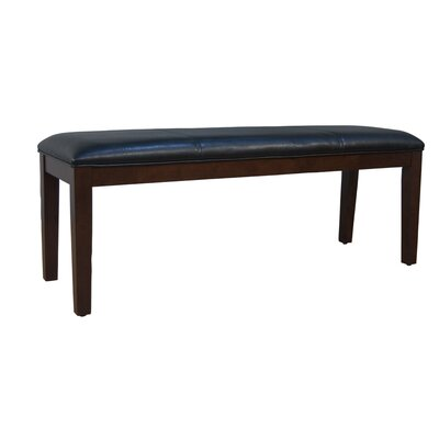 Latitude Run Dixon Wood Bench (Set of 2)