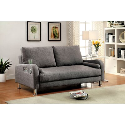 Latitude Run Syden Futon Convertible Sofa