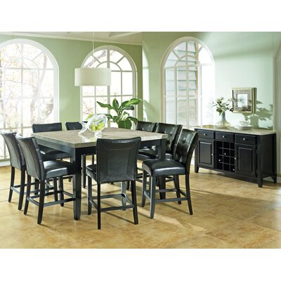 Latitude Run Chloe 9 Piece Counter Height Dining Set