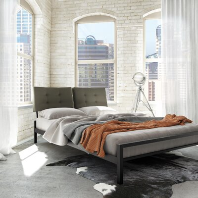 Latitude Run Maxton Upholstered Platform Bed