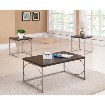 Latitude Run Ronan 3 Piece Coffee Table Set