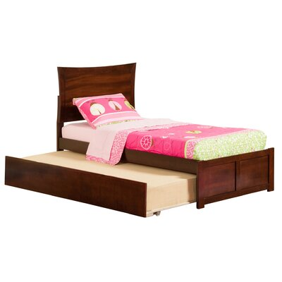 Latitude Run Amy Twin Panel Bed with Trundle