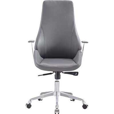 Latitude Run Elsa High-Back Office Chair with Arms