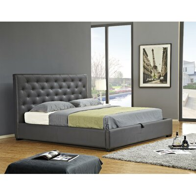 Latitude Run Delaney Upholstered Storage Platform Bed