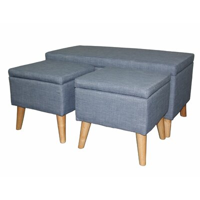 Latitude Run Kerri 3 Piece Upholstered St..