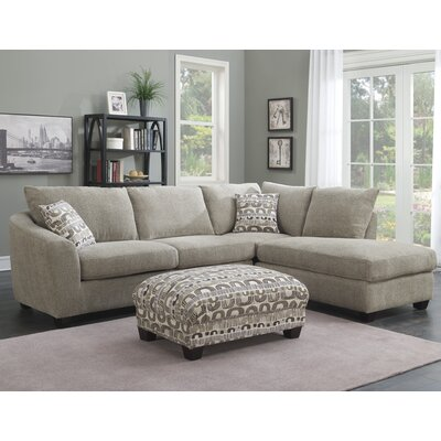 Latitude Run Collinsville Chaise  Sectional