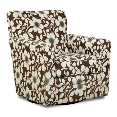 Latitude Run Katrina Upholstery Swivel Glider