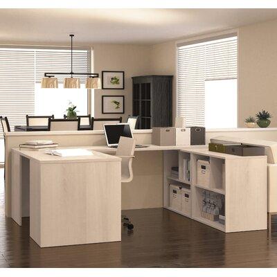 Latitude Run Luther 1 Piece U-Shaped Desk..
