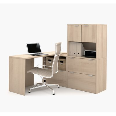 Latitude Run Luther 1 Piece L-Shaped Desk..