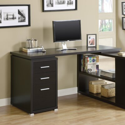 Latitude Run Huntleys L-Shaped Computer Desk