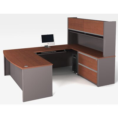 Latitude Run Karla 1 Piece U-shaped Desk Office Suite