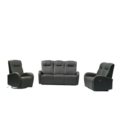 Latitude Run Pablo 3 Piece Power Reclining Living Room Set