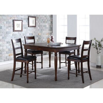 Latitude Run Jeremy 5 Piece Dining Set