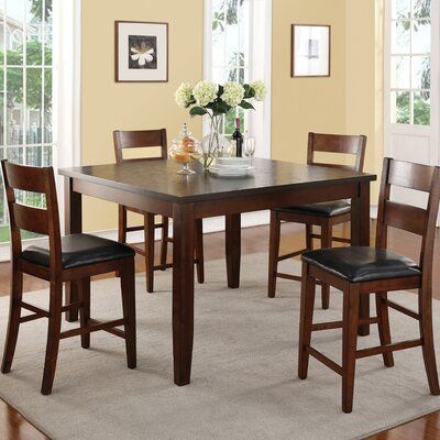 Latitude Run Constance 5 Piece Dining Set