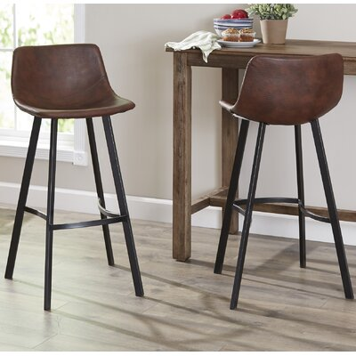 Latitude Run Mary Kate 30  Bar Stool   Reviews   Wayfair. Should Your Bar Stools Match Your Dining Chairs. Home Design Ideas
