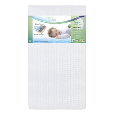 Evolur Sleep Triple Stage Latex Foam Mattress
