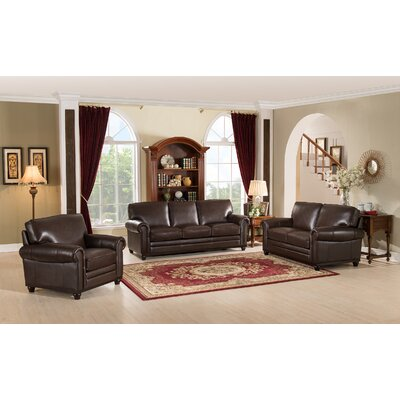 Westland and Birch Coventry Top Grain Leather Living Room Collection