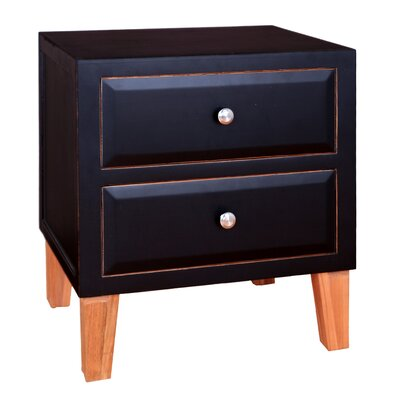 Porthos Home Hunter 2 Drawer End Table