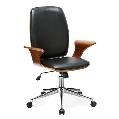 Porthos Home Lennon Office Chair with Arms Image