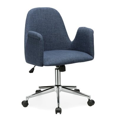Porthos Home Orwell Office Chair with Arms