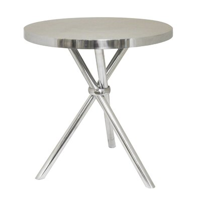 Urban Designs Mikayla Aluminum End Table