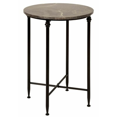 Urban Designs Dark Marble Top End Table