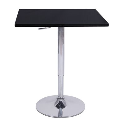 Vandue Corporation Zeta Adjustable Height Pub Table (Set of 4)
