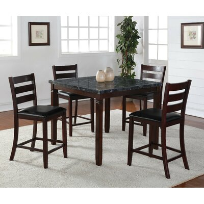 Wildon Home ® Alexis 5 Piece Pub Table Set