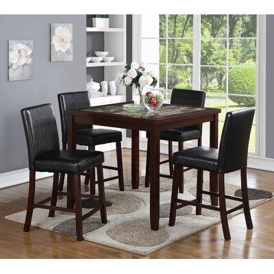 Wildon Home ® Alton 5 Piece Pub Table Set