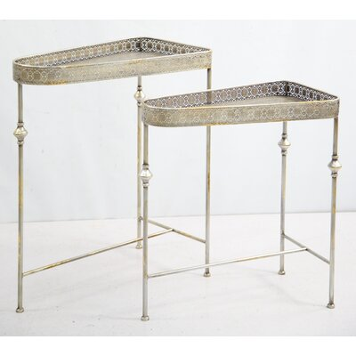 Drew DeRose Designs 2 Piece Nesting Tables