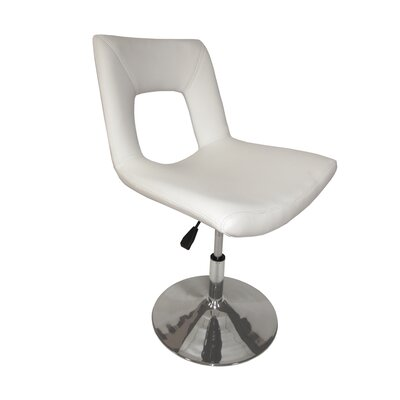 Impacterra Dublin Upholstered Side Chair with Lift in Ivory