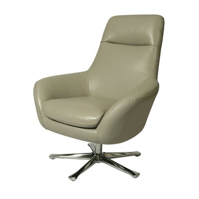 Impacterra Ellejoyce Leather Chair