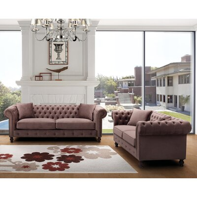 Noci Design Sofa and Loveseat Set