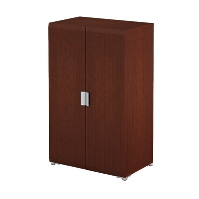 A&J Homes Studio Cherry 2 Door Storage Cabinet