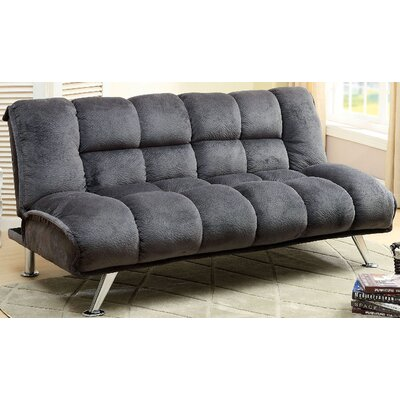 A&J Homes Studio Lauren Tufted Futon Sleeper Sofa