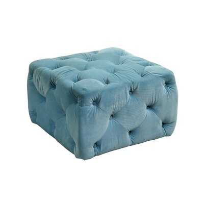A&J Homes Studio Deep Button Tufting Ottoman