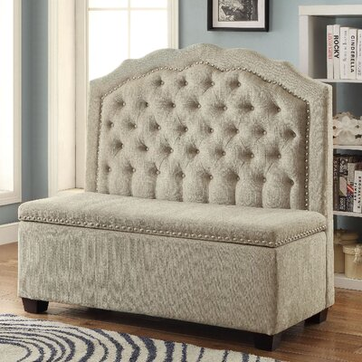 A&J Homes Studio Larry Upholstered Storag..