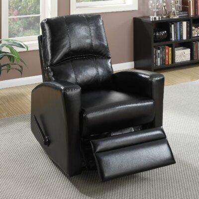 A&J Homes Studio Flora Upholstered Swivel Recliner