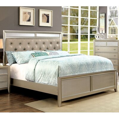 A&J Homes Studio Ashmont Upholstered Panel Bed