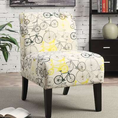 A&J Homes Studio Bellaire Slipper Chair Image