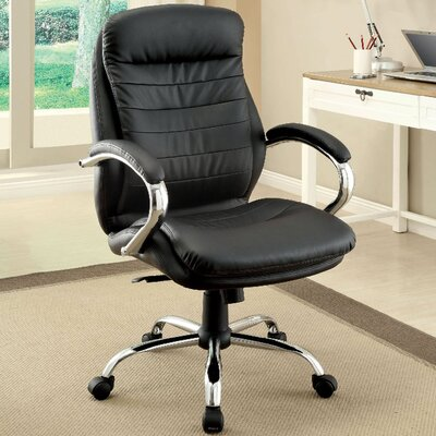 A&J Homes Studio Mid-Back Office Chair with Arms