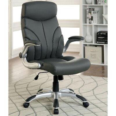 A&J Homes Studio High-Back Office Chair with Arms Image