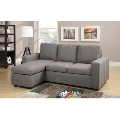 A&J Homes Studio Rossa Reversible Chaise Sectional