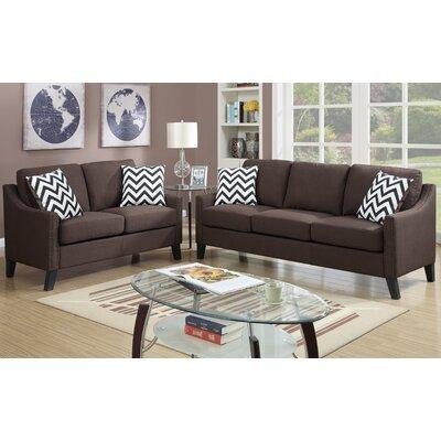 A&J Homes Studio Sofa and Loveseat Set