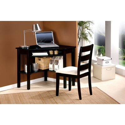 A&J Homes Studio Kaiser Computer Desk with Chair Set